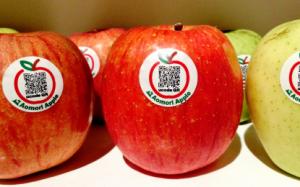 QR apples