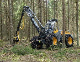 strojno spravilo lesa