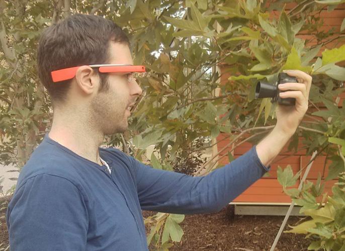 google glass plant health