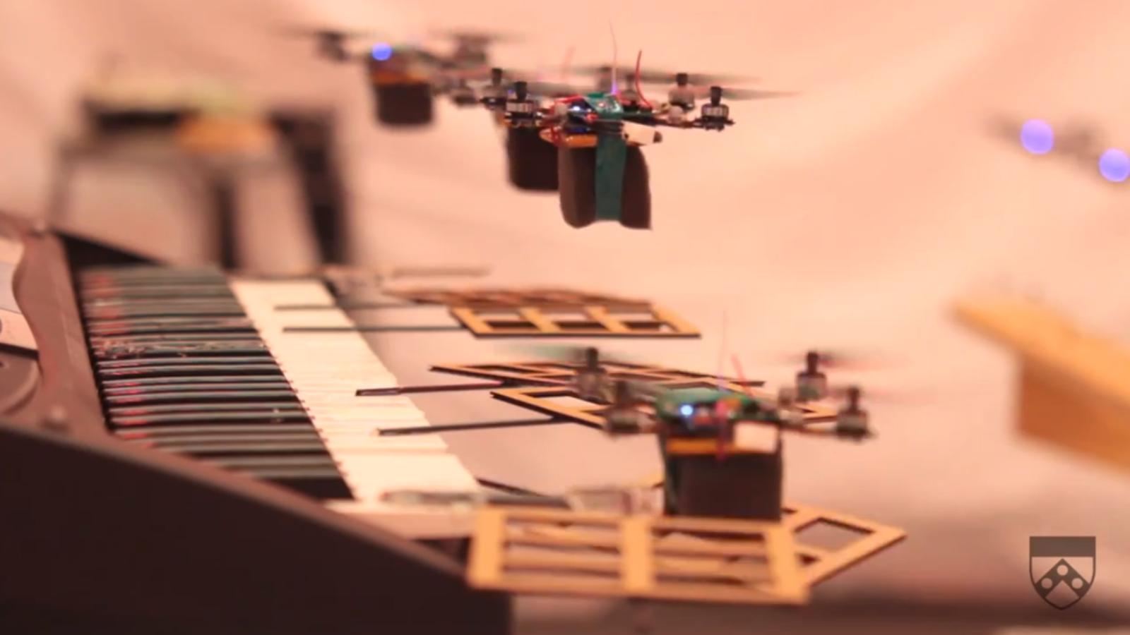 droni muzikanti