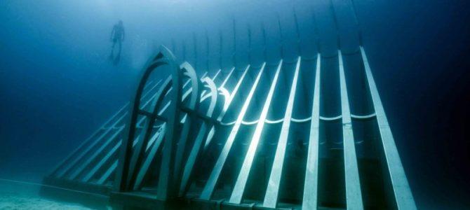 Podvodni koralni rastlinjak odprt za potapljače