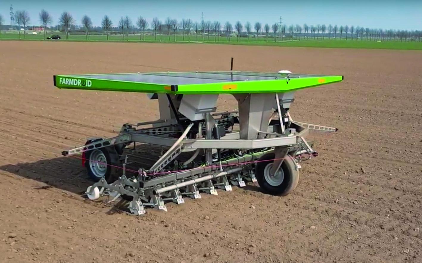 V Nemčiji postajajo agro roboti standard