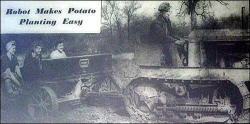 Robotsko sajenje krompirja